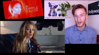 A SIMPLE FAVOR Teaser Reaction - Blake Lively