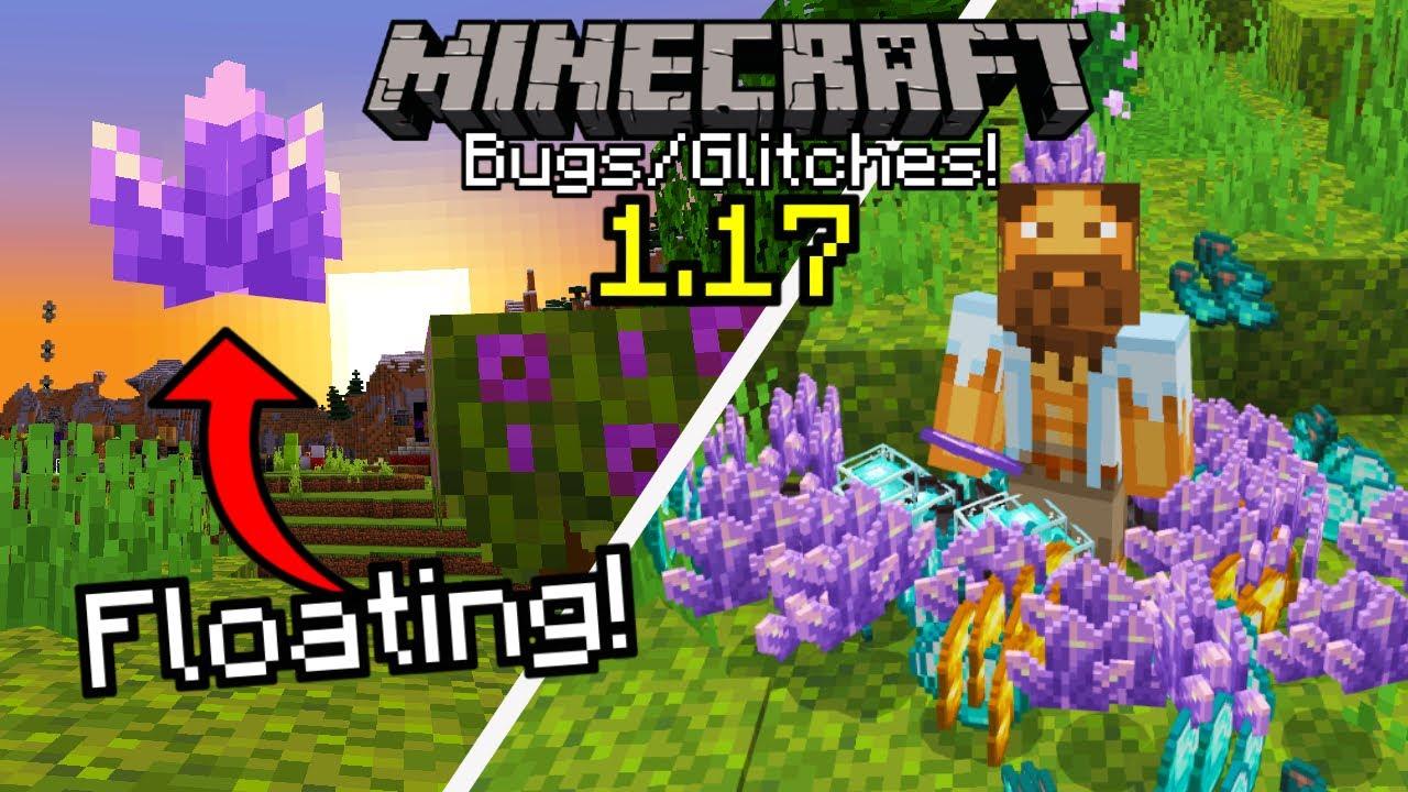 Minecraft Bugs&Glitches 1.17! (Easy Duplication Glitch , Remove Bedrock , X-Ray Glitch , & MORE)
