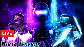⚡UPDATE *Mythical Souls Island* |  LEGEND GIVEAWAYS Ninja Legends ROBLOX LIVE STREAM (7Dec 2019)