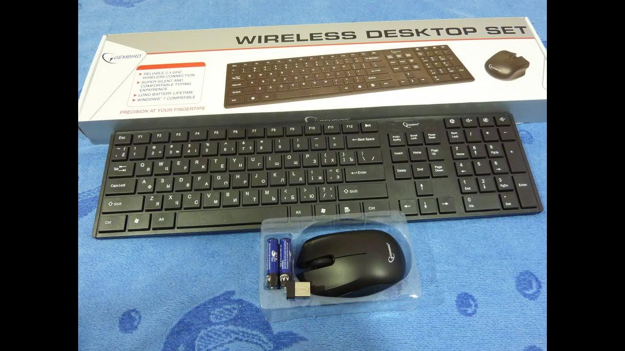 Мышь беспроводная Gembird MUSW-209 ,черн 2кн.+колесо-кнопка 2.4ГГц