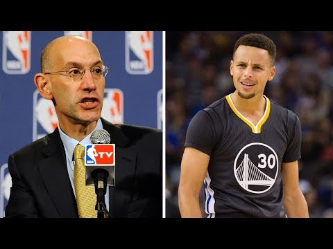 Steph Curry OUTED by Adam Silver for Blocking All Star Draft from Being Televised