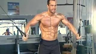Jud Dean - Low Cable Crossover (Bodybuilding)