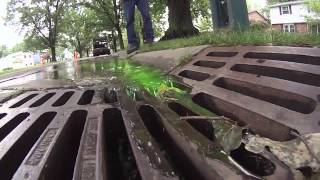Residential Dye Testing - Storm Water Management