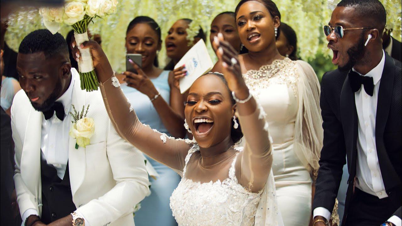 Download BEST WEDDING ENTRANCE EVER | #theTTAffair | TOMIKE & TOSIN ADEOYE'S WEDDING