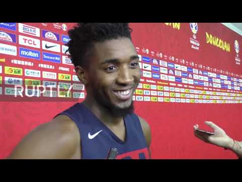 China: USA's Mitchell 'blocked' Jazz teammate Gobert ahead of France QF