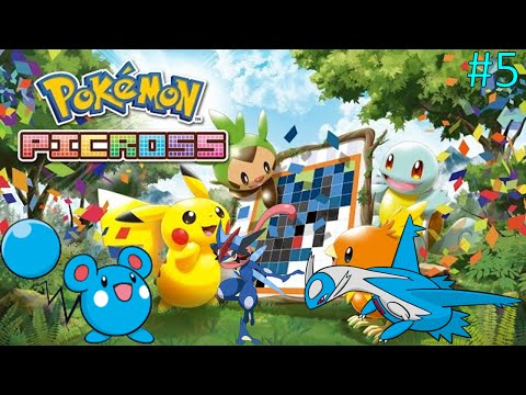 Let's Play Pokemon Picross:  Part 5 - Turning To Ash [All Passwords]