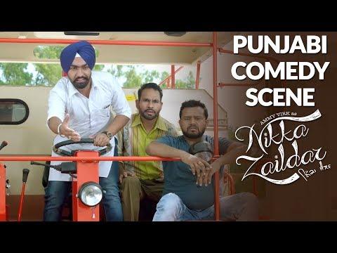 PUNJABI COMEDY 2017 |  Ammy Virk | Nikka...