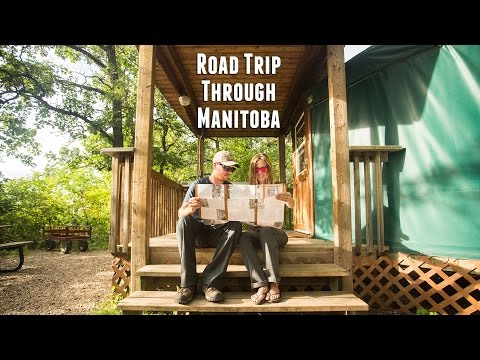 Road Trip through Manitoba, Canada
