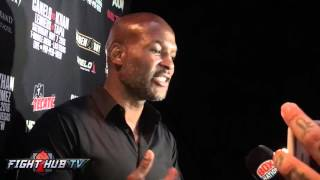 Bernard Hopkins on Mayweather return