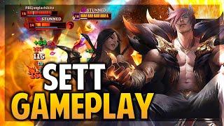 ¡SETT GAMEPLAY! EL MEJOR COUNTER DE TANQUES! | League of Legends