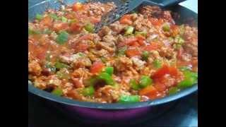 przepis na dietetyczny obiad - spaghetti