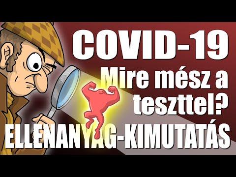 COVID-19: Mire mész a teszttel? ELLENANYAG-KIMUTATÁS