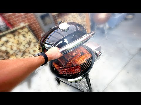 WEBER SUMMIT CHARCOAL  --  REVIEW And TEST