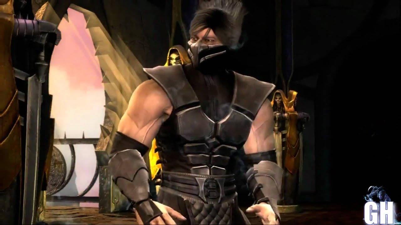 Mortal Kombat 9 Smoke Intro - YouTube - photo#15