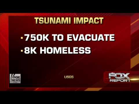 California  US Geological Survey Emergency Planners prepare for possible Tsunami 9 6 13