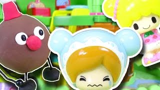 こえだちゃん おもちゃ 木のおうちにあんぱんくんが遊びに行ったよ♪ こえだちゃんのお友だちも紹介! Koeda-chan Toy thumbnail