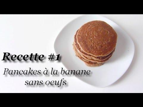 recette-#1-pancakes-à-la-banane-sans-oeufs