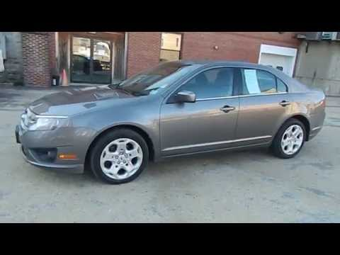 Used 2010 Ford Fusion SE Best Price Lowest Price Portland Maine South Paris Maine