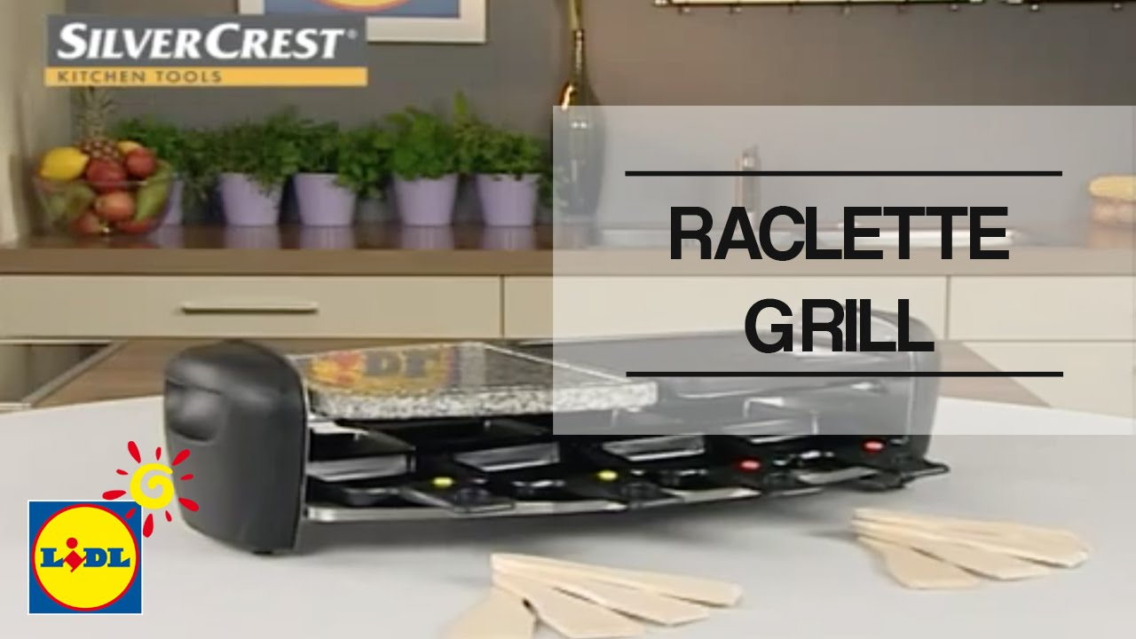 raclette grill lidl espa a youtube. Black Bedroom Furniture Sets. Home Design Ideas