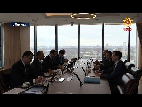 В  Москве состоялась рабочая встреча Министра промышленности и торговли РФ  и Главы Чувашии