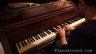 E Major mysterious scale - Piano Improvisation 001