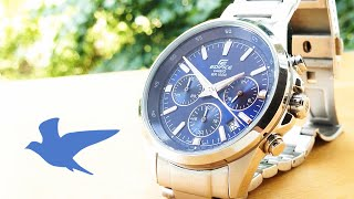 Review Casio Edifice Chronograph - ref: EFR-527D-2AVUEF