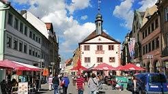 Unterwegs in der schönen Innenstadt Bad Kissingen