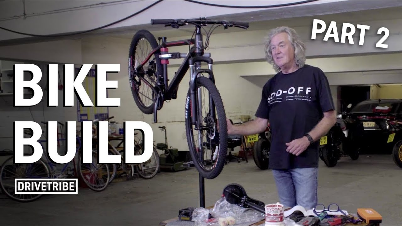 James May builds a bicycle | Part 2