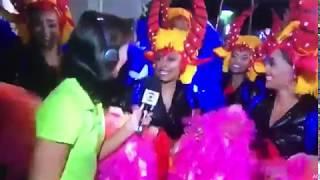 Rio Projekt Rio Carnaval 2019 - Globo TV interview - Paraíso do Tuiuti - Samba Dancers
