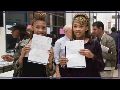 Leyton Sixth Form College Results Day 2016