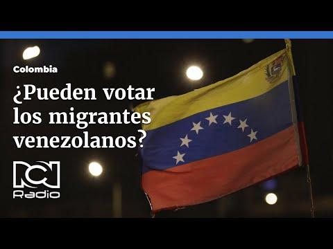 ¿Pueden votar los migrantes venezolanos?