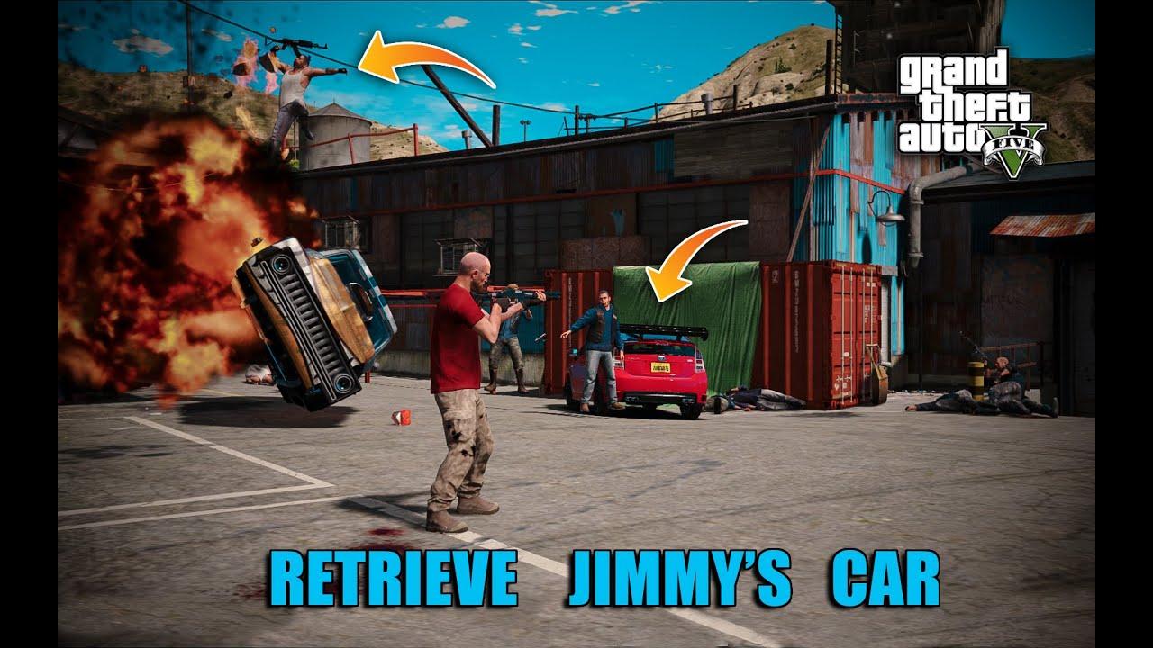 "GTA 5 Real Life Mods | Trevor Found Jimmy's Car ""Toyota Prius"" | GTA V Pakistan"