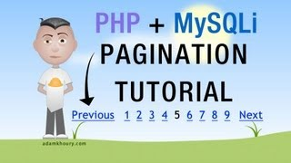 PHP Pagination Tutorial MySQLi Google Style Paged Results Programming Mp3