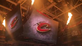 Cleveland Cavaliers Intro Vs Brooklyn Nets