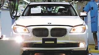 BMW 760 Li Production