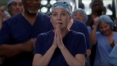 Grey's Anatomy 14x07 Meredith Wins The Harper Avery Award and Calls Christina