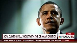 Obama Exit Interview Proves Too Much For MSNBC