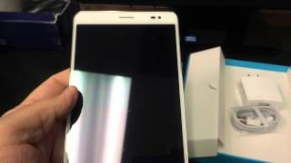 HUAWEI MEDIAPAD X1 7.0 7D-501U Unboxing Video - In Stock at www.welectronics.com