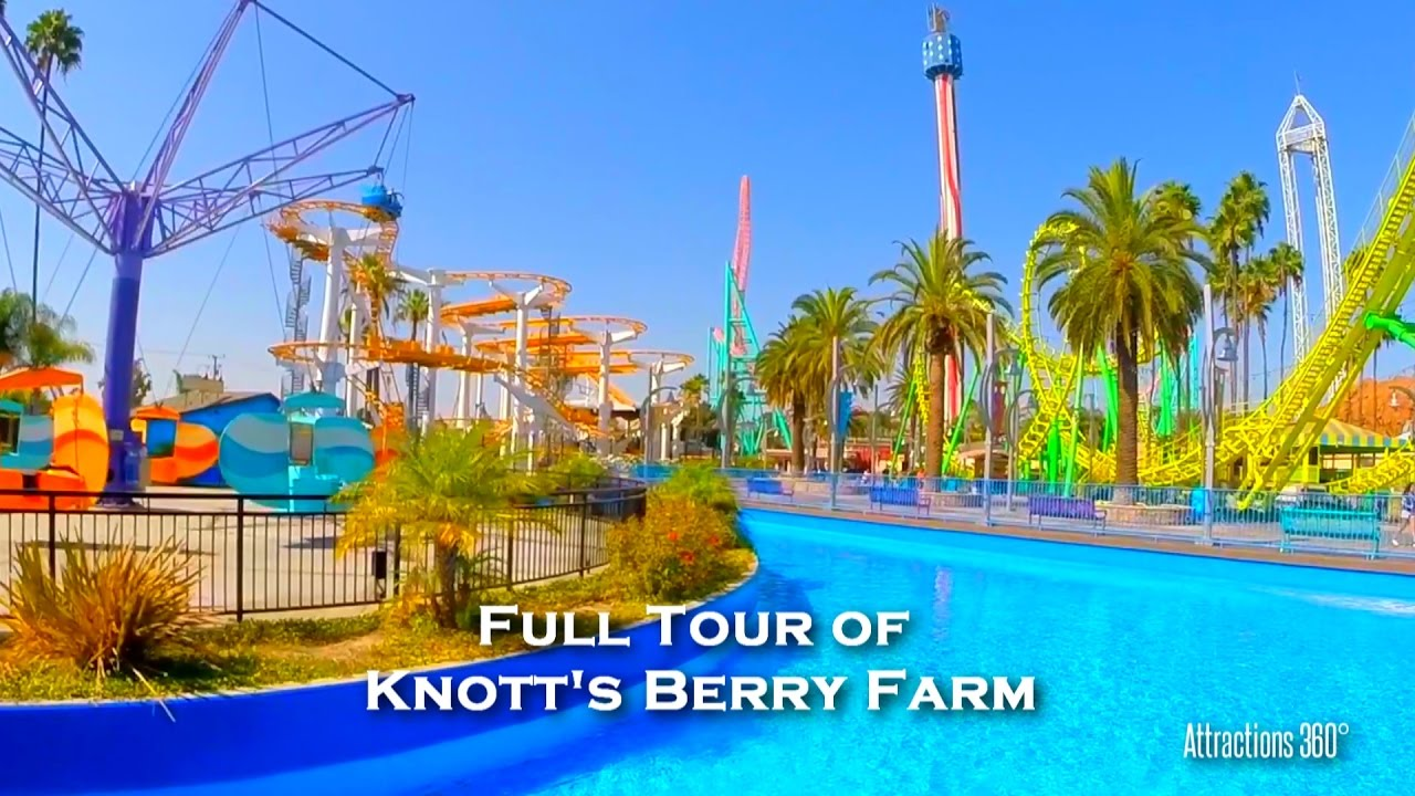 Full Tour of Knott's Berry Farm 2017 - America's 1st Theme Park Knott S Berry Farm Map State on canada's wonderland map, kings island map, wonderland park map, cedar point map, magic kingdom map, disneyland map, six flags map, california adventure map, magic mountain map, kings dominion map, pink's hot dogs map, islands of adventure map, kentucky kingdom map, universal studios hollywood map, ghost town in the sky map, mt. olympus water & theme park map, oceans of fun map, adventure city map, legoland map, carowinds map,