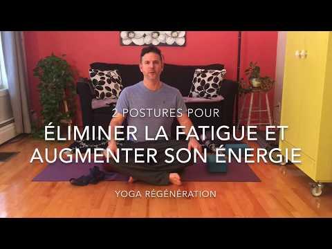 2 postures pour éliminer la fatigue et augmenter son énergie