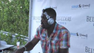 Winter Music Conference - Idris Elba - Sirius Radio Party