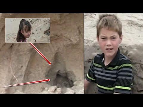 11 Yaşındaki Çocuk Plajda Oynuyordu, Kumu Kazınca Bir Kız Çocuğu Buldu..