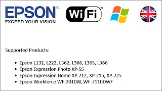 How to set-up Epson printers to use Wi-Fi 2014 (Win EN)