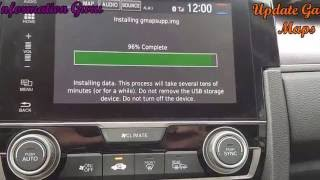 How to Update Honda Navigation Maps Garmin maps- Honda Civic 2016 2017