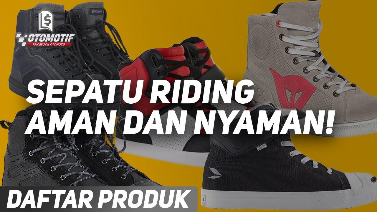 5 Sepatu Sneakers Keren, yang Aman Buat Riding! Mulai dari 500 Ribuan!