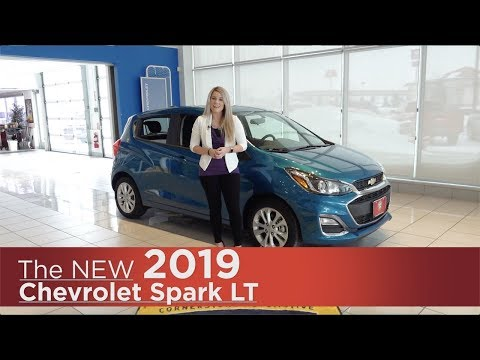 New 2019 Chevrolet Spark LT | Mpls, St Cloud, Monticello, Buffalo, Rogers, MN | Review | Walk Around