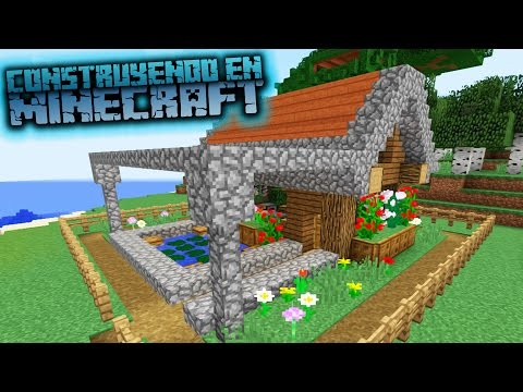 Minecraft como hacer una hermosa casa para survival co for Casa moderna omarzcraft