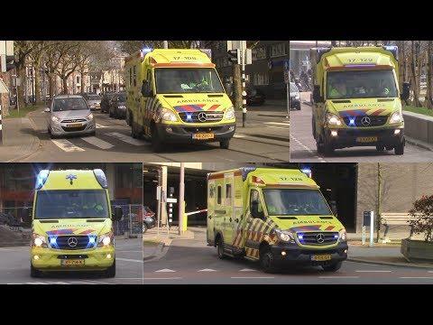 24-3-2018 || Ambulances met spoed door Rotterdam!