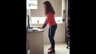 Office Yoga at Home!