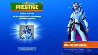 PRESTIGE MISSIONS ROAD TRIP CHALLENGES FREE REWARD ITEMS UNLOCKED FORTNITE